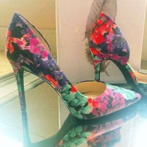Jessica Simpson/ Tropical Bloom Print